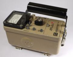 Ludlum Model 12-4 Count Ratemeter Geiger Counter Radiation