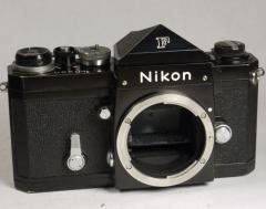 Nikon F vintage body with eye level prism Black