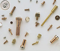 Custom brazed composite rivet electrical contacts
