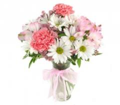 Pink Love in the Mist Bouquet