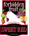 Forbidden Fruit Sweet Red Wine