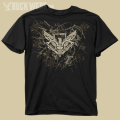 2947 Sketch Skull Youth Hunting Performace T-Shirt
