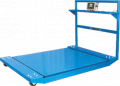 Low Profile Scale Cart