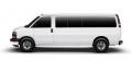 2012 GMC Savana Passenger 3500 Extended Wheelbase Rear-Wheel Drive 1LT Van