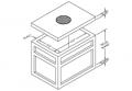 "Precast Concrete Utility Vaults 4'-0"" X 6'-0"" Manhole with Standard Knockout Panels"