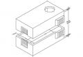 Precast Concrete Utility Vaults, 38 Y 4-Way Manhole.