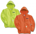 Carhartt Hi-Vis Hooded Sweatshirt