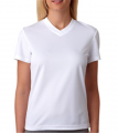 Dry Sport V-Neck Mesh Performance Tee