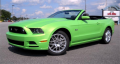 2013 Ford Mustang Convertible Vehicle
