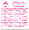 Flexible Magnetic Calendar