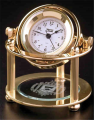 790500 Polished Brass Clock