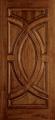 Custom Wood All Panel Exterior Door