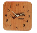 Solid Hardwood Wall Clock