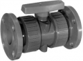 PVC Flanged True Union Ball Valve