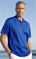 Omega Solid Mesh Tech Polo Shirt