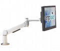 Flat Panel Single Monitor Arm Mount, EF-01-CC-P
