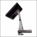 LCD Flat Panel Display Articulating Arm - Clamp Mount
