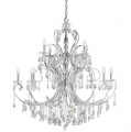 Candle ID:044354 Large Chandelier