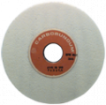"Carborundum Abrasives -- 8 x 1/2 x 1-1/4"" -- Aluminum Oxide (V11) / 80H Type 1 Surface Grinding Wheel"