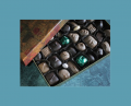 Nougat and Nuts in milk chocolate Decadent Caramel