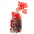 Code 0745 - Sweetheart or Valentine Lollipops