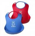 Babybjorn Bib 2pk Red/Blue - 046506US Bibs