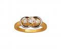 Diamond Marriage Symbol Ring