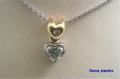 40-00273 Carma Jewelers Diamond Pendant