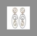 HJTE2783 Diamond Earrings