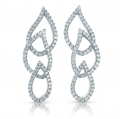 E7785WG White Gold Diamond Earring