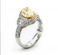 P1784L Pink Diamond Ring