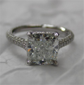Radiant Cut Solotaire Ring