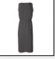 Asphalt Bella - Ladies' Ann Sleeveless V-Neck T-Shirt Dress