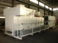 "Drying Oven 34"" J-R Greene Two Zone Gas Fired 500 Deg F (2) 1.5mm Btu Burners"