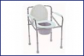 Bed side commodes
