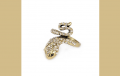 Korean Personality Exquisite Fashion Snake Decorated With Rhinestones Charm Design Ring
