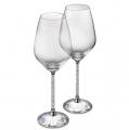 Crystalline White Wine Glasses (Set of 2) Stemware