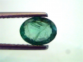 1 Ct Untreated Natural Zambian Emerald