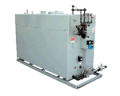 Straight gas atmospheric boilers