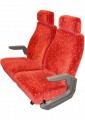 Coach Standard MID Back With Headrest Passenger Seats