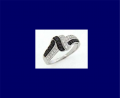 BLR-164-BD Black Diamond Ring