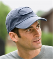 1917 Authentic Pigment Pigment-Dyed Raw-Edge Patch Baseball Cap