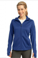 Ladies Tech Fleece Full-Zip Hooded Jacke