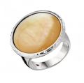 Gold Mother of Pearl Ring
