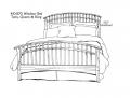 Sarah Windsor Bed