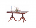 Woodbury Cherry Double Pedestal Dining Table
