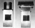 Types RE & RES Recirculating Roof Ventilators