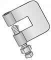 200 Series Steel C-Clamp