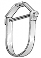 405 Series Standard Clevis Hanger Extended Bottom