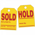 Hold/Sold Hang Tags